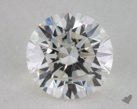 1.07 Carat G-I1 Excellent Cut Round Diamond