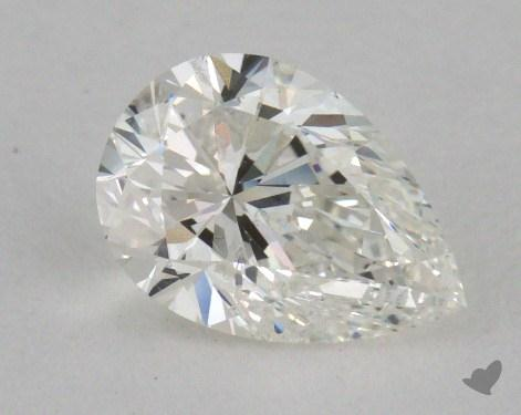 1.03 Carat I-SI2 Pear Cut Diamond