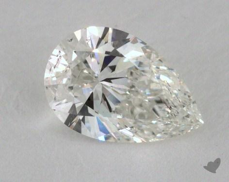 1.01 Carat H-SI2 Pear Cut Diamond