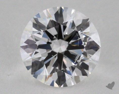 1.77 Carat D-SI2 Excellent Cut Round Diamond