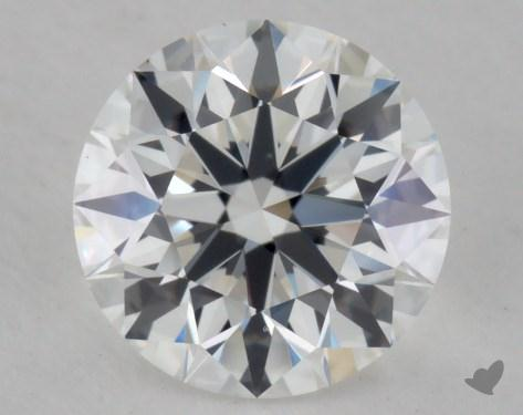1.28 Carat E-VS1 True Hearts<sup>TM</sup> Ideal Diamond