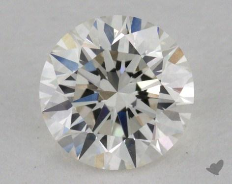 0.80 Carat H-VVS1 Excellent Cut Round Diamond