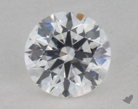 0.32 Carat F-SI2 Ideal Cut Round Diamond
