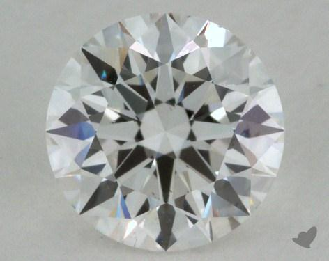 0.80 Carat F-VS1 Excellent Cut Round Diamond