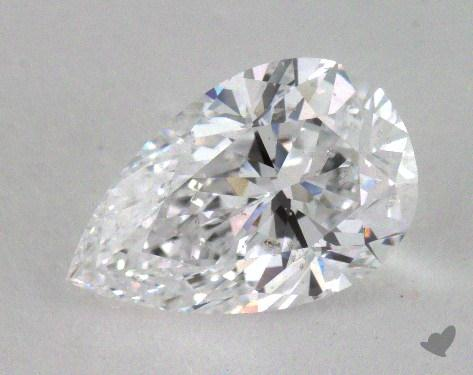 1.68 Carat D-SI2 Pear Cut Diamond