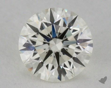 1.02 Carat J-VVS1 Excellent Cut Round Diamond