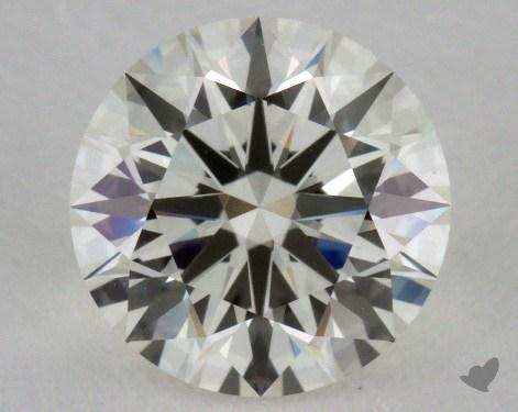 1.34 Carat K-VVS1 Excellent Cut Round Diamond 