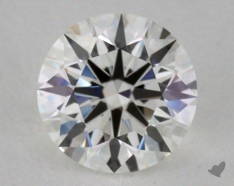 1.02 Carat I-VVS1 Excellent Cut Round Diamond