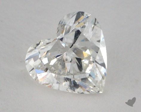 1.68 Carat G-SI2 Heart Shape Diamond