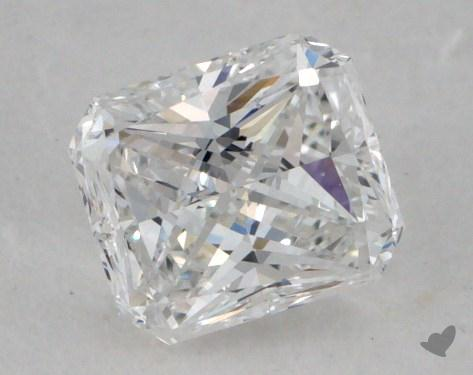 0.54 Carat D-VS2 Radiant Cut Diamond