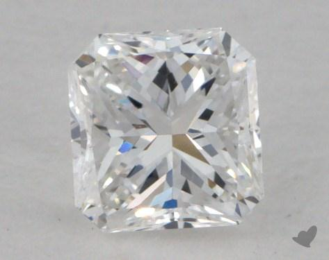 0.49 Carat E-VVS1 Radiant Cut Diamond