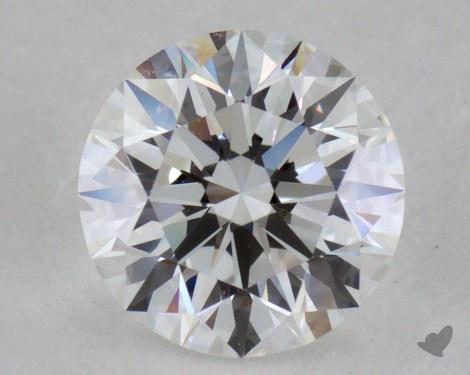 0.90 Carat E-VVS1 Excellent Cut Round Diamond