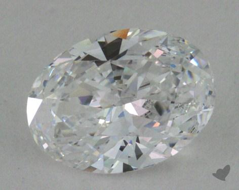 0.80 Carat D-VVS2 Oval Cut Diamond