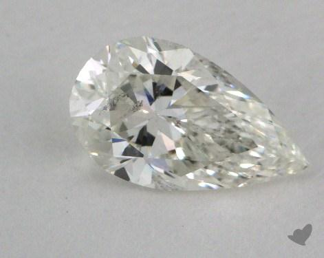 0.85 Carat I-SI2 Pear Shape Diamond