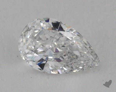 0.79 Carat E-SI2 Pear Cut Diamond