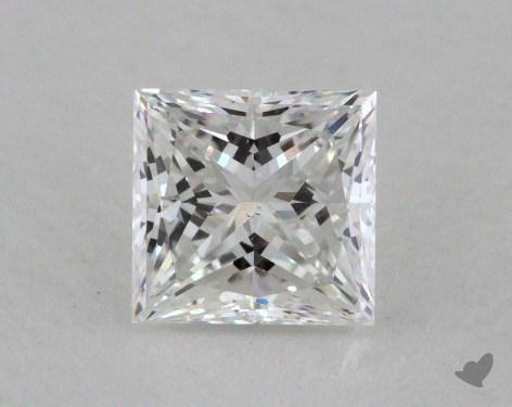 0.50 Carat E-VS2 Princess Cut Diamond