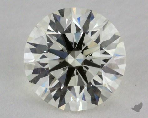 1.38 Carat K-VVS1 Excellent Cut Round Diamond