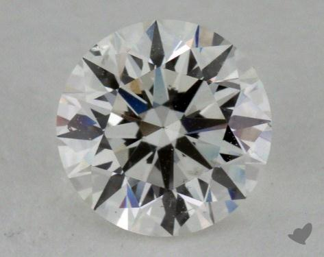 0.83 Carat H-SI1 True Hearts<sup>TM</sup> Ideal Diamond
