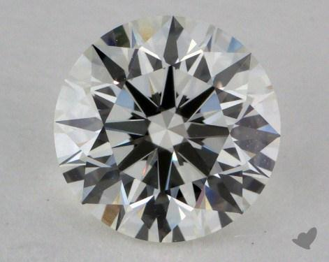 1.26 Carat J-VVS1 Excellent Cut Round Diamond