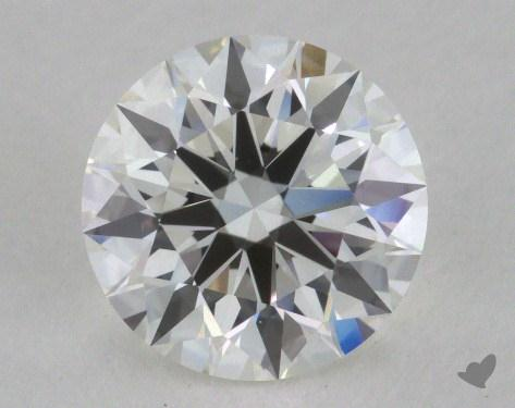 1.26 Carat H-IF Excellent Cut Round Diamond 