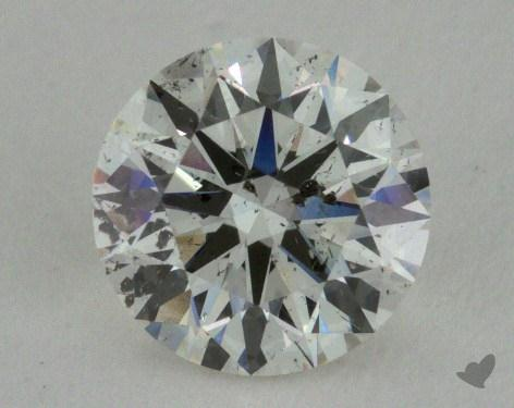 0.90 Carat H-SI2 Ideal Cut Round Diamond 