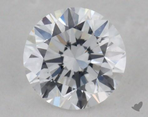0.34 Carat D-VS2 Very Good Cut Round Diamond
