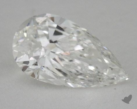 1.31 Carat H-SI1 Pear Cut Diamond 