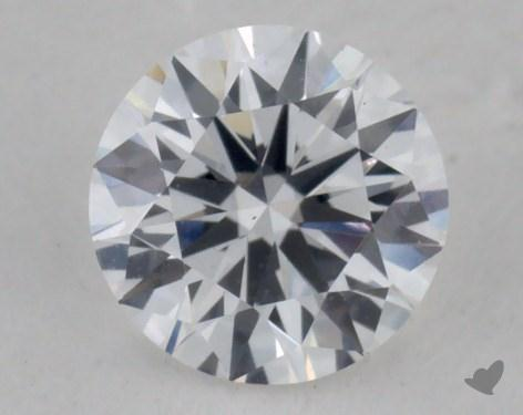 0.30 Carat D-VS1 Very Good Cut Round Diamond