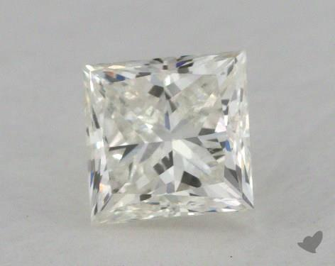 0.55 Carat J-VVS2 Very Good Cut Princess Diamond