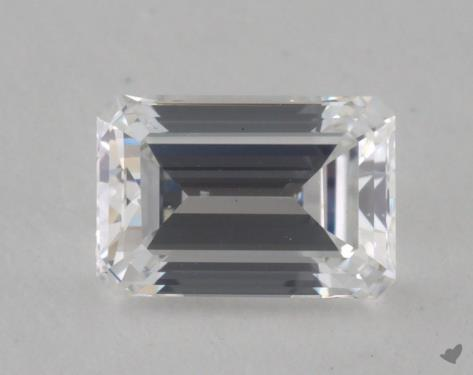0.60 Carat D-SI1 Emerald Cut Diamond