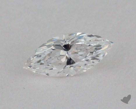 0.33 Carat D-VS2 Marquise Cut Diamond