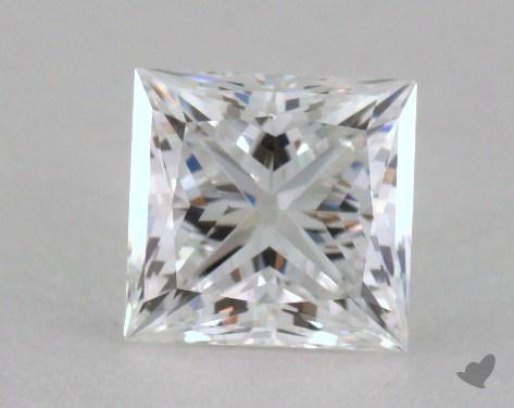 1.14 Carat E-VVS1 Ideal Cut Princess Diamond