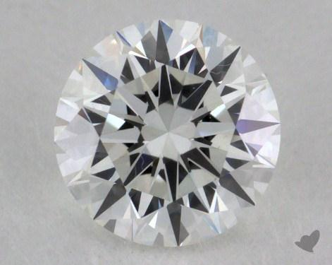 0.71 Carat F-VVS1 Excellent Cut Round Diamond