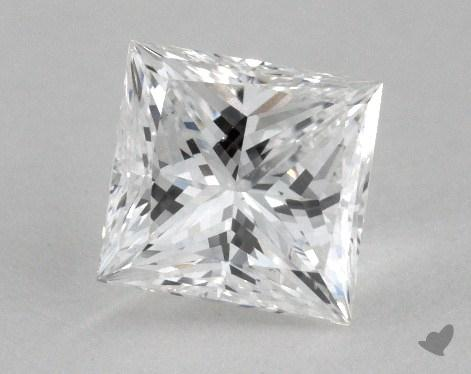 1.05 Carat F-VS2 Ideal Cut Princess Diamond