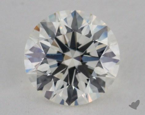 0.91 Carat K-VS1 Excellent Cut Round Diamond