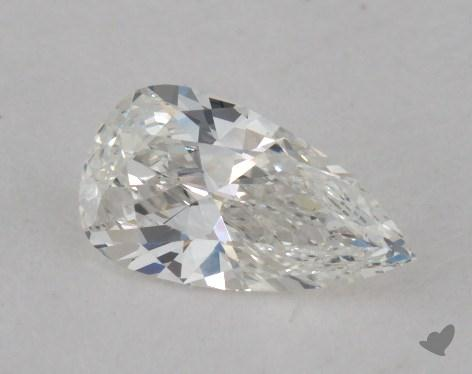 0.41 Carat G-VS2 Pear Shaped  Diamond