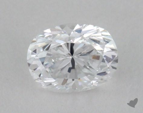 0.70 Carat D-SI2 Oval Cut Diamond