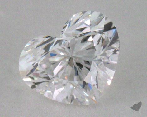 0.51 Carat D-VVS1 Heart Cut Diamond