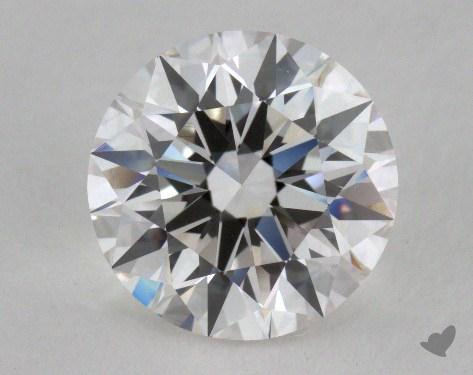 2.07 Carat F-VVS2 Excellent Cut Round Diamond