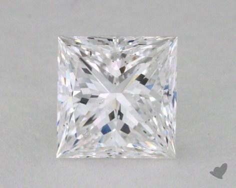 1.50 Carat D-SI1 Ideal Cut Princess Diamond