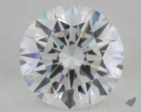 0.74 Carat E-VS1 Excellent Cut Round Diamond