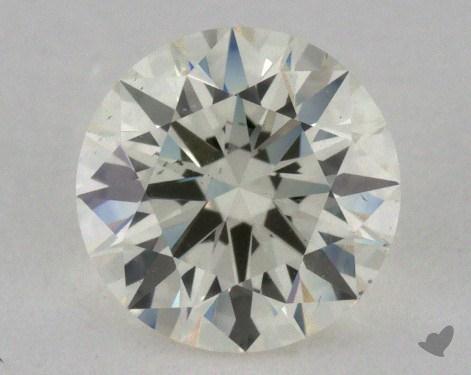 0.75 Carat J-SI1 Excellent Cut Round Diamond