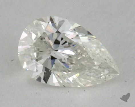 0.52 Carat G-SI1 Pear Shape Diamond