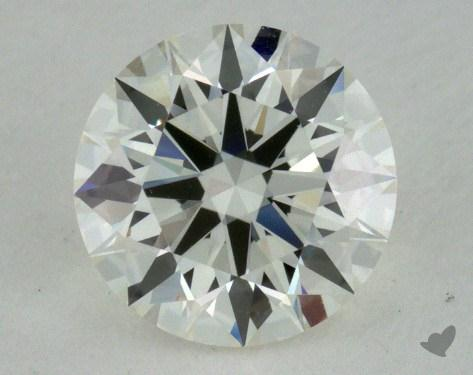 0.83 Carat J-VVS1 Excellent Cut Round Diamond