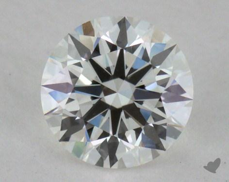 0.57 Carat H-VVS2 Excellent Cut Round Diamond