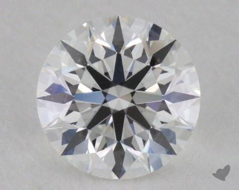 0.50 Carat F-VVS1 Very Good Cut Round Diamond 