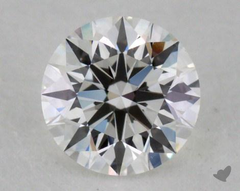 0.40 Carat F-SI1 Excellent Cut Round Diamond