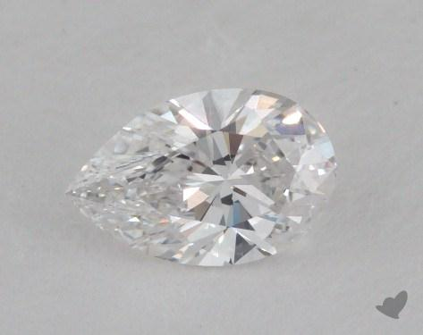 0.53 Carat E-VS1 Pear Shaped  Diamond