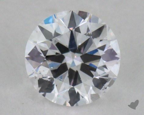 0.31 Carat D-I1 Very Good Cut Round Diamond