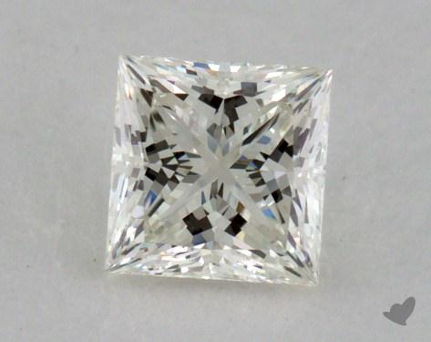 0.53 Carat K-VVS2 Ideal Cut Princess Diamond